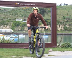 Rob Connolly will ferry riders for Art on Bikes,  the Waitaki Arts Festival closing day...