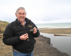 Volunteer David Harrowfield, with help from the Waitaki District Council, has removed hundreds of...