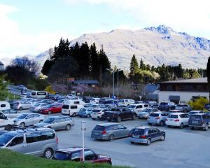One of the Queenstown Lakes District Council-owned car parks in Queenstown where the council is...