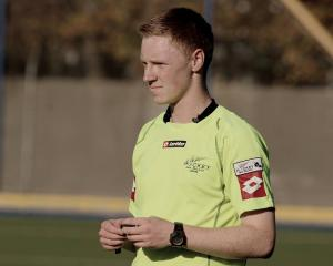 Otago hockey umpire Sam Doran (23) is to officiate at the Oceania Cup in Sydney next month. Photo...