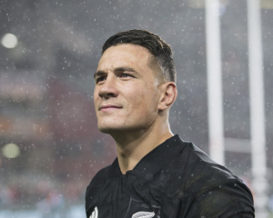 Sonny Bill has been sent off during the All Blacks- Lions match. Photo: NZ Herald