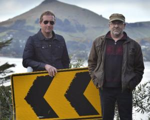 Looking back, looking forward . . . The Clean members David Kilgour (left) and Robert Scott...
