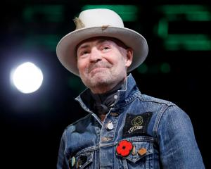 Tragically Hip singer Gord Downie. Photo Reuters