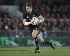 Beauden Barrett. Photo NZ Herald