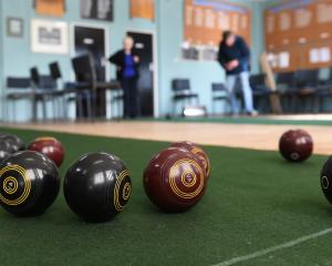 Blondell enjoyed a quiet game of bowls with friends once a week. Photo: Gregor Richardson.