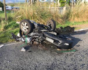 A 10-year-old boy was seriously injured and three others received moderate injuries after a crash...