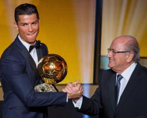 Cristiano Ronaldo has won the Ballon d'or for the forth time. Photo: Getty Images