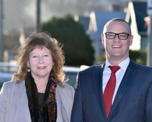 Clare Curran and David Clark. Photo: ODT