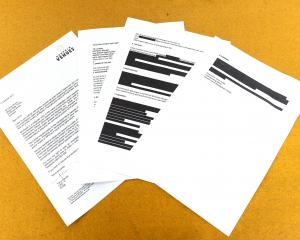 The blackout continues after Dunedin Venues released a heavily redacted report into August's...