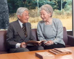 Japan's Emperor Akihito and his wife Empress Michiko. Photo: Reuters