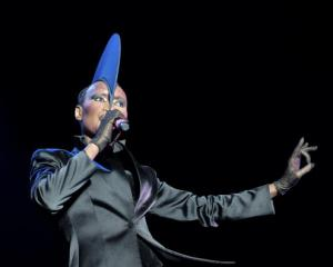 Grace Jones will perform in Queenstown next year. Photo Getty