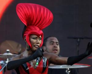 Grace Jones. Photo Getty
