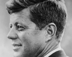 US President John F. Kennedy was assassinated in November 1963. Photo Getty