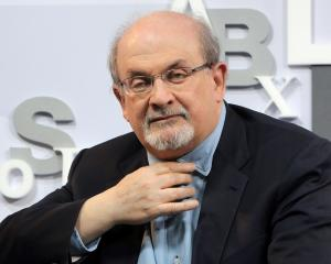British author Salman Rushdie. Photo: Getty Images