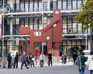 Joep van Lieshout's ''Domestikator'' on display at the Georges Pompidou Centre. Photo Getty