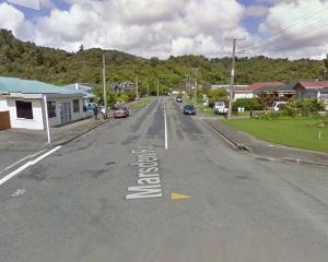 Armed police are responding to an incident on Marsden Rd in Greymouth. Photo: Google Maps