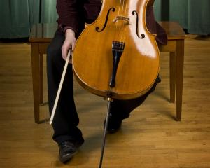 Italian cellist Umberto Clerici. PHOTO: SUPPLIED