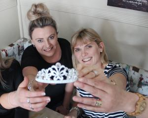 South Otago A&P Show Queen co-conveners (from left) Keely Hurring, Tina Stanley, Ingrid...
