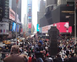 No visit to the Big Apple would be complete without a stroll up Broadway and around Times Square,...
