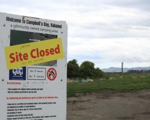 The Kakanui Ratepayers' Society has decided not to allow freedom camping on it's land at Campbell...