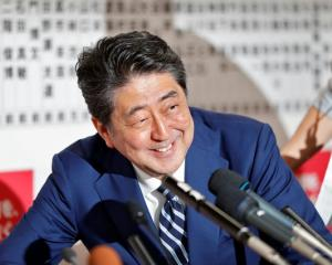 Japan's Prime Minister Shinzo Abe, leader of the Liberal Democratic Party (LDP). Photo: Reuters