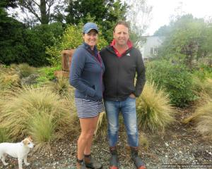West Range farmers Bronnie and Derek Chamberlain, of Western Southland, encourage other farmers...