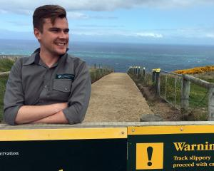 Department of Conservation recreation, historic and biodiversity ranger Shay van der Hurk at the...