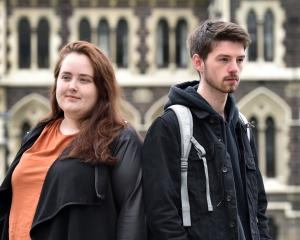 University of Otago students Sinead Gill and Niall Campbell say a plan to shake up the mental...