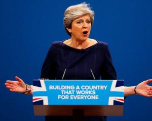 "After May's bungled election, her failure to unite the cabinet and a poor party conference ""the..."