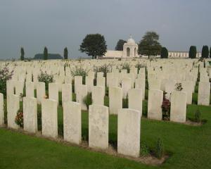 The Tyne Cot cemetery near Passchendaele in Belgium. Photo: Hayden Meikle