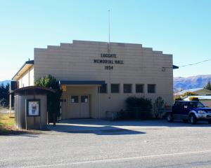 The Luggate Memorial Hall. Photo: Tim Miller