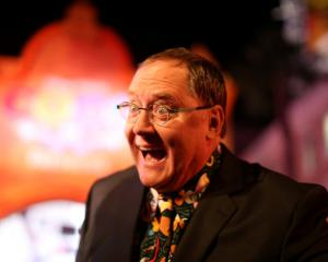 "John Lasseter attends the US premiere of ""Coco"" in Hollywood earlier this month. Photo Reuters"