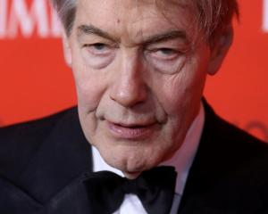 Charlie Rose arrives for the Time 100 Gala in the Manhattan borough of New York in April. Photo...