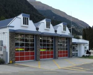 Queenstown fire station. PHOTO: ODT FILES