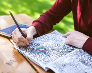 After a week, the study found those who had been colouring-in reported lower levels of depressive...