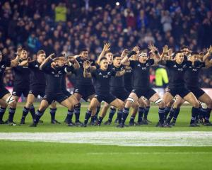 Could the All Blacks have a new television broadcaster within the next three years. Photo: Getty...