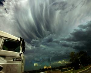 Rumpled anvil clouds. Photo: Getty Images