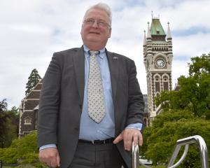 European Union Ambassador to New Zealand Bernard Savage visiting the University of Otago this...
