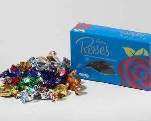 Cadbury Roses have had a makeover. Photo: NZ Herald/Brett Phibb