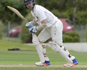 Otago wicketkeeper-batsman Derek de Boorder on his way to a century against Central Districts at...