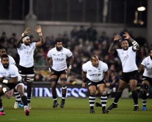 Fiji at the rugby league world cup. Photo: Reuters
