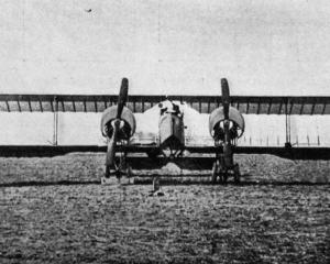 The French version of the German Gotha twin-engined bomber, which has a three-man crew. — Otago...