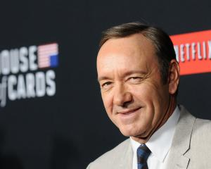 Actor Kevin Spacey attends a screening of Netflix drama 'House Of Cards' in 2014. Photo: Getty...