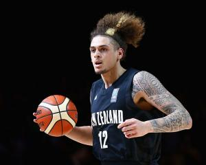 Forward Isaac Fotu will be a regular in the Tall Blacks starting line-up. Photo: Getty Images