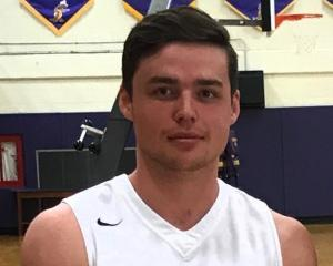 Former Otago player and new Tall Blacks' squad member Joe Cook-Green (20) at Eastern Arizona...