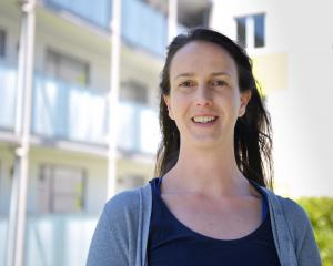 University of Otago researcher Lara Rangiwhetu at a Wellington City Council housing complex....