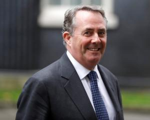 Britain's Secretary of State for International Trade Liam Fox. Photo: Reuters