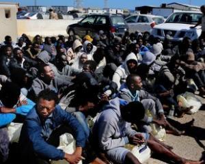 Libyan human trafficking. Photo: Twitter