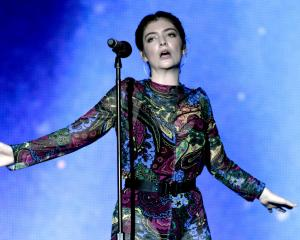 Lorde lost the NZ Artist of the Year EMA to up-and-coming performer Tapz Photo: Getty Images