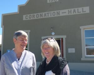 Former Bannockburn Community Centre management committee member Margie Dicey (left) and...